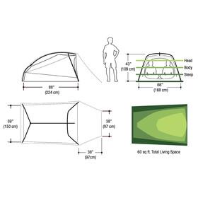 Marmot Bolt 3P Tent Dark Citron/Citronelle